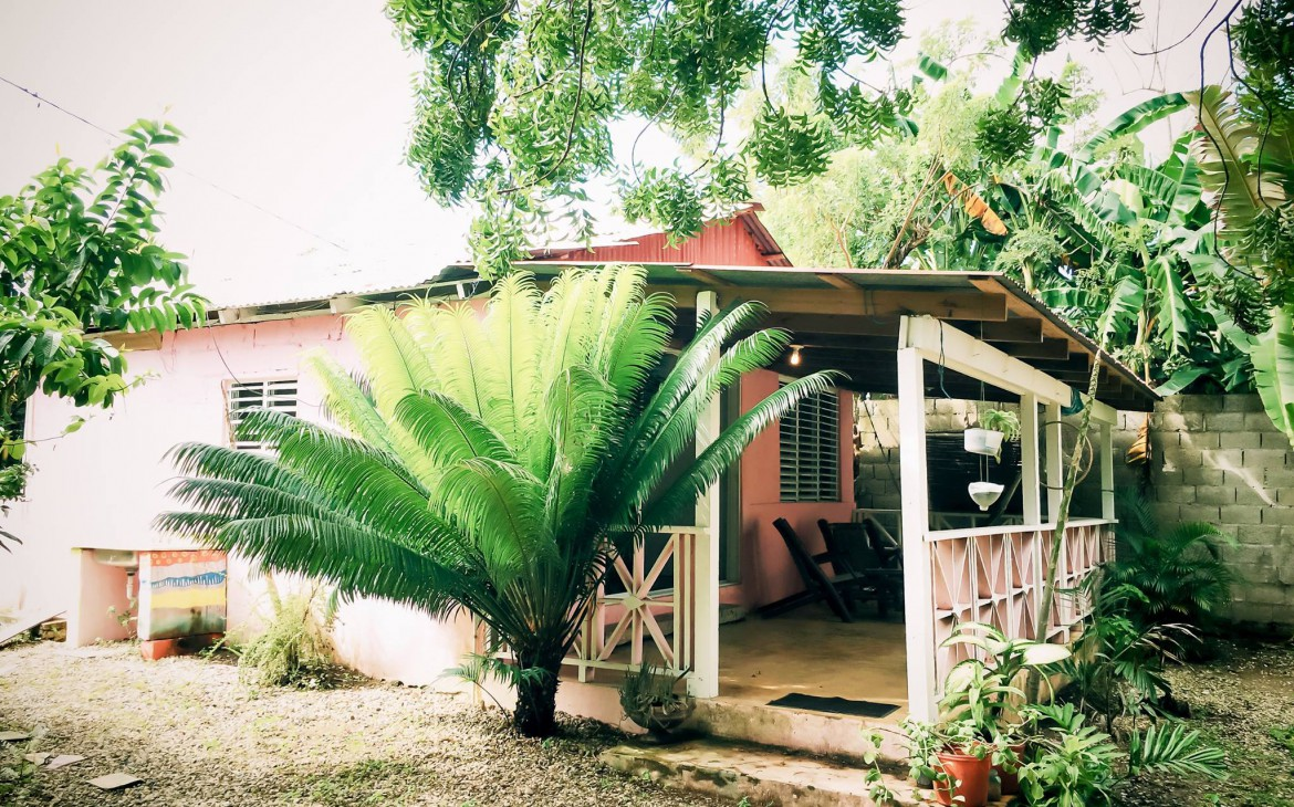 pink house dominican republic property rental